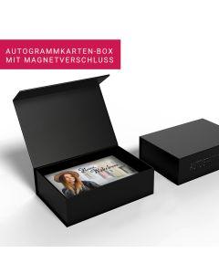 Autogrammkarten Box