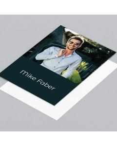 Autogrammkarte Mike