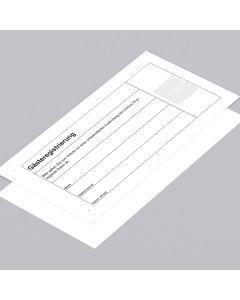 Gästeregistrierung DIN lang
