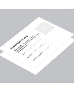 Gästeregistrierung DIN A5