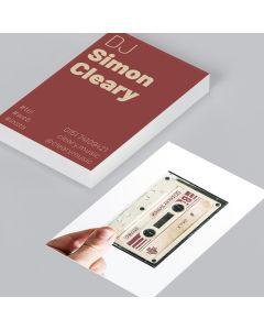 Visitenkarte Simon's Mixtape