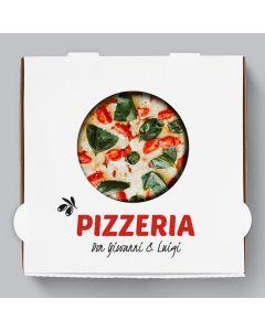 Caprese Pizzakarton Personalisierbar