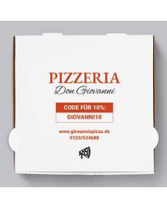 Capri Pizzakarton Personalisierbar