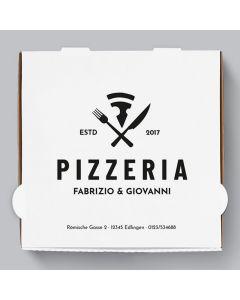 Diavola Pizzakarton Personalisierbar