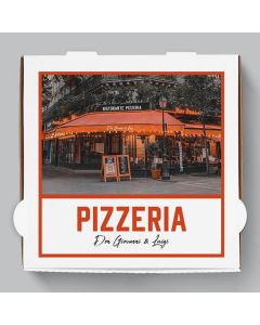 Margherita Pizzakarton Personalisierbar