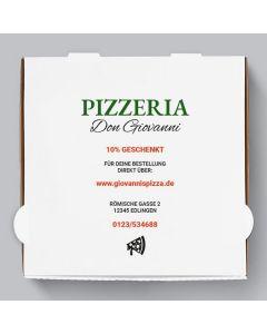 Napoli Pizzakarton Personalisierbar