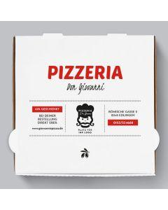 Speziale Pizzakarton Personalisierbar
