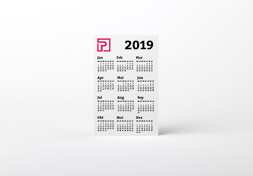 Kalenderkarte  1