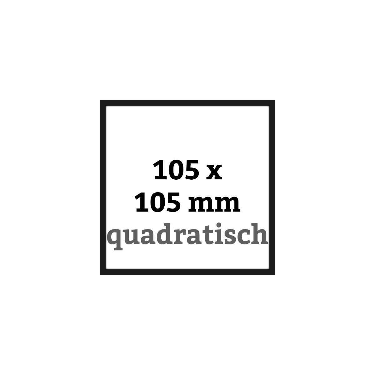 Quadratische Flyer 105 x 105 mm