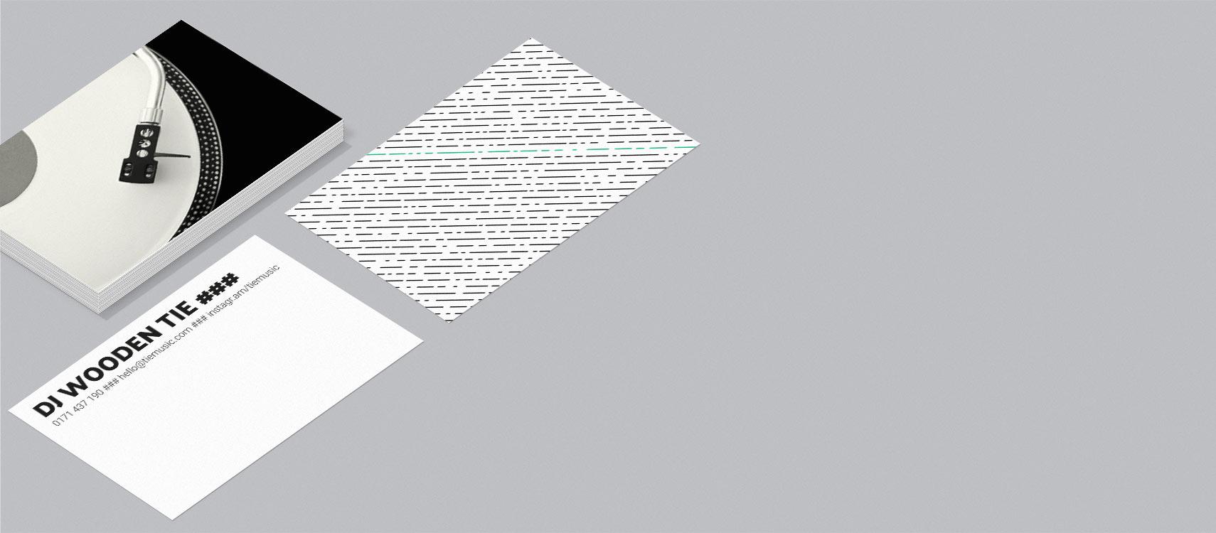 Visitenkarten Für Djs Und Djanes Einfach Gestalten Und Bestellen