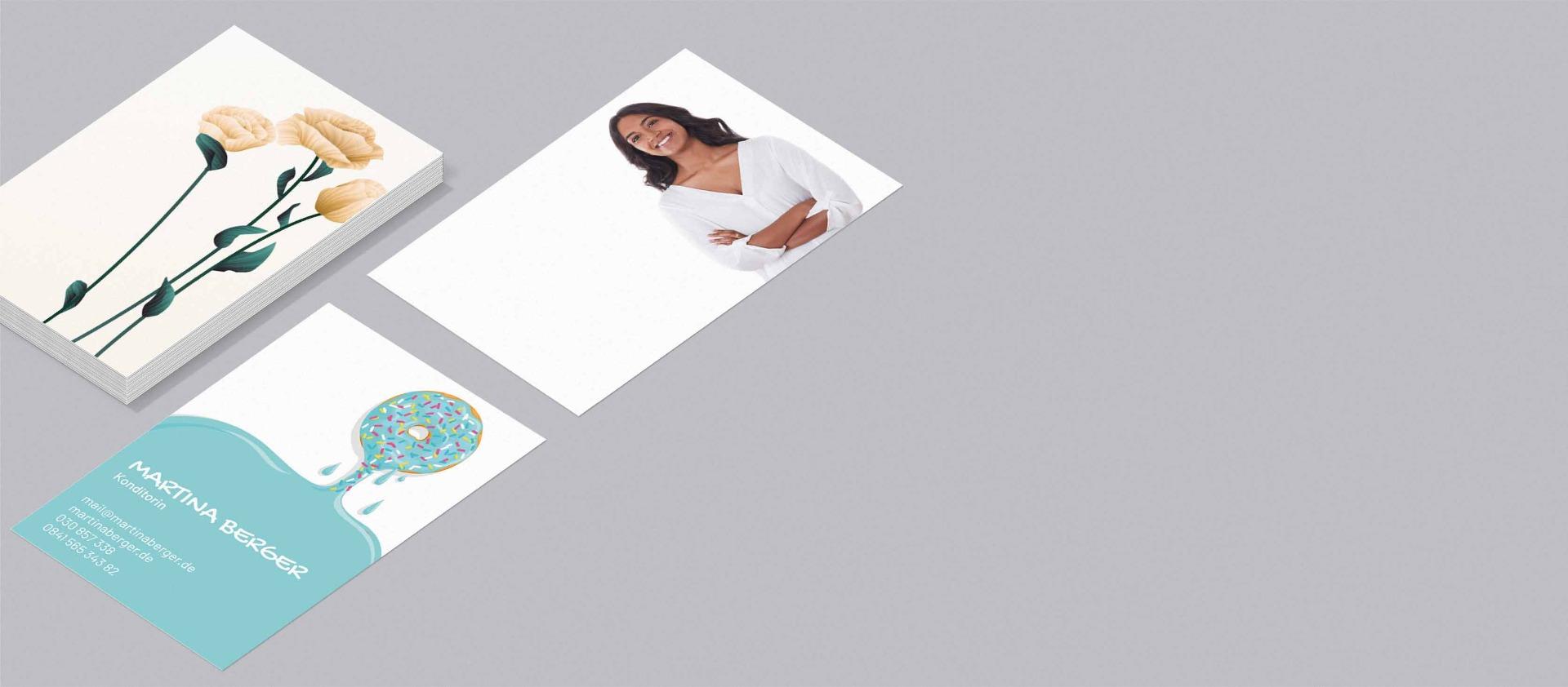 Visitenkarten Für Privatleute Einfach Gestalten Und Bestellen